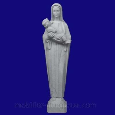 Statue Vierge et l'Enfant
