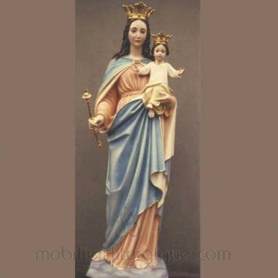 statue Vierge Marie Ausiliatrice