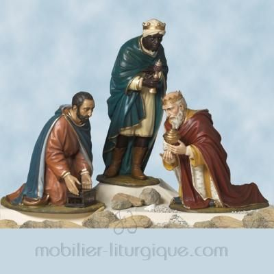 Statues Rois Mages