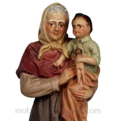 Vieillard et l'enfant