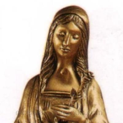 Vierge a la rose