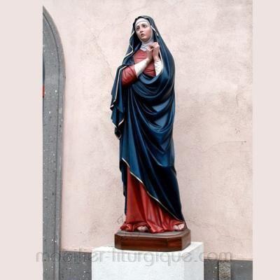 Vierge adorant