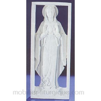 Vierge montrant son Coeur