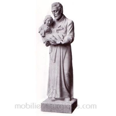 Vincent de Paul : statue sur mesure